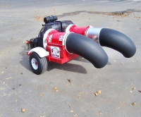 Воздуходувка для очистки и сушки асфальта Cyclone Squared